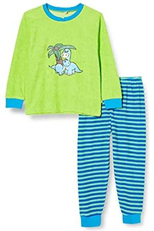 Playshoes Boy's Terry Cloth Dino Pyjama Set