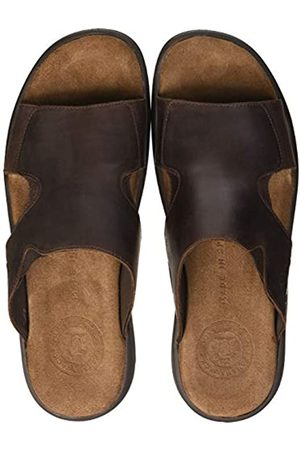 Panama Jack Men's Robin Basics Open Toe Sandals, (Marron C2)