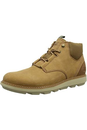Cat Footwear Men's BRUSK LACE Chukka Boots, (Indian Tan Tan)