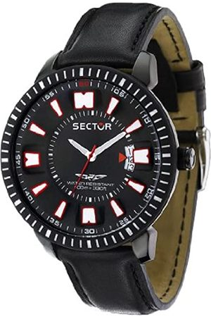 Sector Men's Quartz Watch with Dial Analogue Display and Leather Strap R3251119003