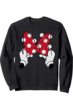 Disney Minnie Mouse's Red Polka Dot Bow Sweatshirt