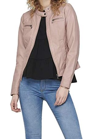 Only Women's Onlbandit Faux Leather Biker OTW Noos Jacket