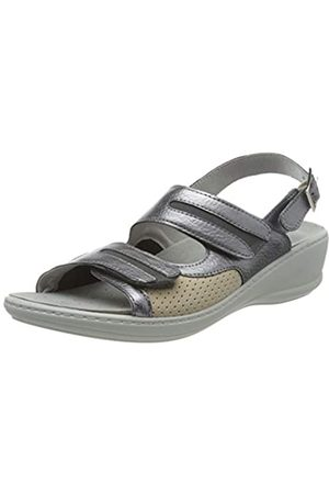 Rohde Women's Herne Ankle Strap Sandals, (Altsilber 88)