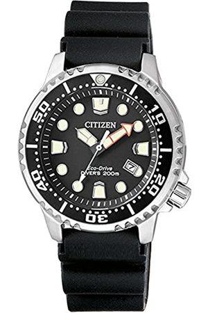 Citizen Womens Analogue Quartz Watch with Plastic Strap EP6050-17E