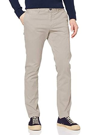 Tommy Hilfiger Men's Bleecker TH Flex Satin Chino GMD Loose Fit Jeans