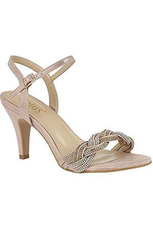 Lotus Women's Jasmine Open Toe Heels, ( Kj)