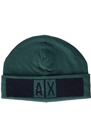 Armani Men's Beanie Hat with Logo Beret
