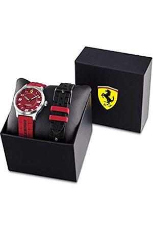 Scuderia Ferrari Boy's Analogue Quartz Watch with Silicone Strap 0860016