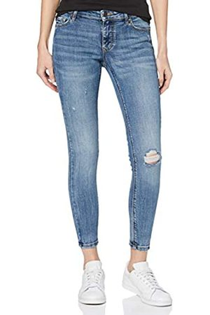 Vero Moda Women's Vmlydia Lr Skinny Destr Js Li320 Ga Noos Jeans