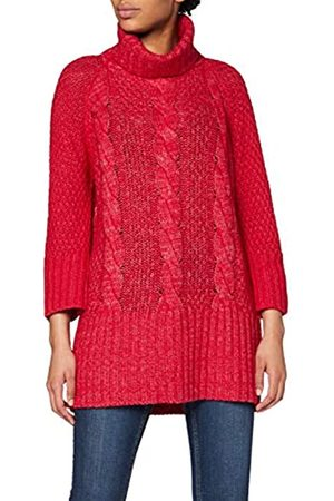 Conte Of Cashmere Women's 33003 Turtleneck (Rosso 15) One Size
