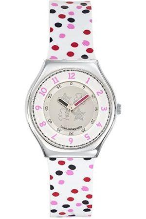 Lulu Castagnette Womens Analogue Quartz Watch with Plastic Strap 38708