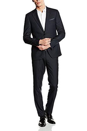 ESPRIT Collection Men's 036EO2M003-Side openingn Suit, Schwarz ( 001)