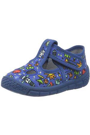 Richter Kinderschuhe Boys' Hausschuhe Hi-Top Slippers, (Nautical (Space) 6820)