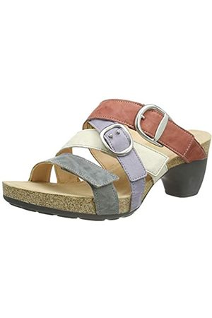 Think! Women's 686574_Traudi Closed Toe Sandals, (Stahl/Kombi 19)