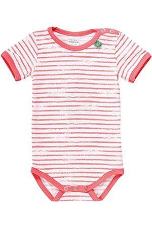 Green Cotton Baby Girls' Ocean Stripe S/s Body Shaping Bodysuit