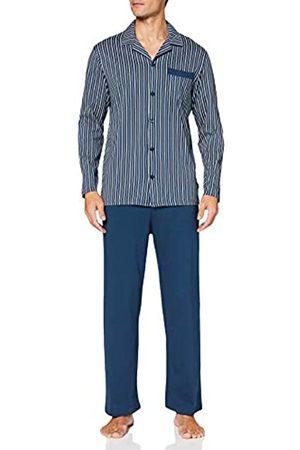 Schiesser Men's Comfort Fit Pyjama Lang Set