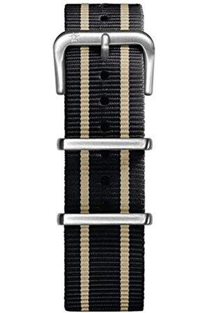 Oxygen Unisex Nylon Buckle Pin of 20cm EX-NN-STR-20-BLIVBL