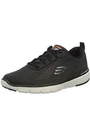 Skechers Men's Flex Advantage 3.0 Trainers, ( Mesh/Trim Blk)