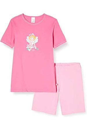 Schiesser Girl's Prinzessin Lillifee Md Schlafanzug Kurz Pyjama Set, -Rot ( 504)