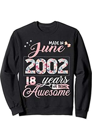 Flowers 2001-18th Birthday Womens Funny T-Shirt 18 Year Old Present Gift