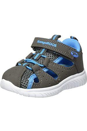 KangaROOS Unisex Babies' Ki-Rock Lite Ev Low-Top Sneakers, (Steel /Brilliant 2007)