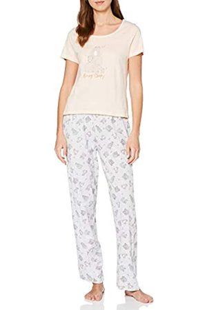 Dorothy Perkins Women's Bear Sleepy Pyjama Set Pajama