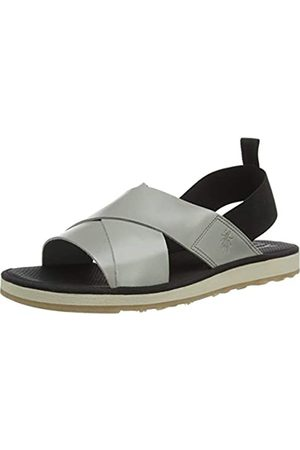 Fly London Men's BLAK185FLY Open Toe Sandals, (Cloud 002)
