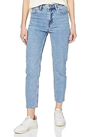 Only Women's Onlemily Hw St Raw Crop ANK Mae06 Noos Jeans