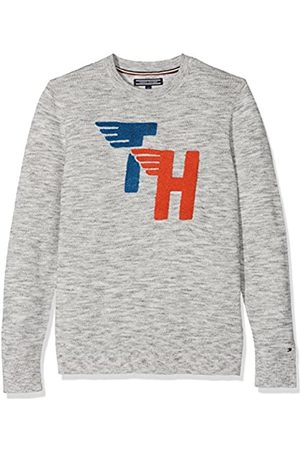 Tommy Hilfiger Boy's AME Fun Towelling Cn Sweater Jumper