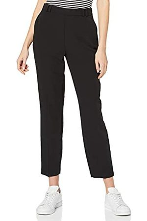 Dorothy Perkins Women's High Waisted Slim Leg Trousers Work Utility Pants