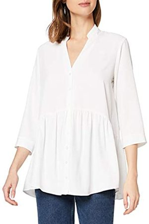 Dorothy Perkins Women's Ivory Peplum Hem Tunic Top Blouse