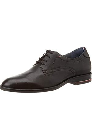 Tommy Hilfiger Men's Signature Hilfiger Leather Shoe Mocassins, ( Bds)