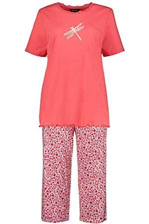 Ulla Popken Women's Große Größen Pyjama, Libelle Night Shirt