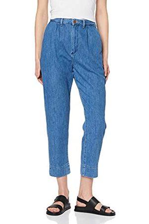 Wrangler Women's Mom Chino Straight Jeans