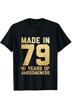 41st Birthday Mens Womens Age 41 Gift Tee 41st Birthday Shirt Women Men 41 Year Old Gifts for Her 1979 T-Shirt