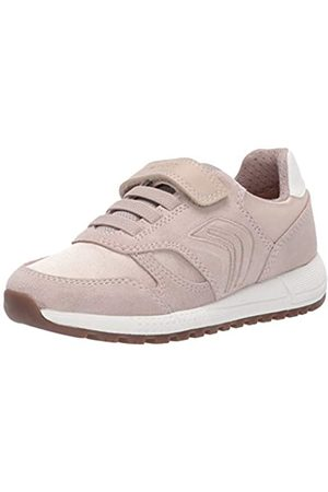 Geox Girls' J ALBEN Low-Top Sneakers, ( C5000)