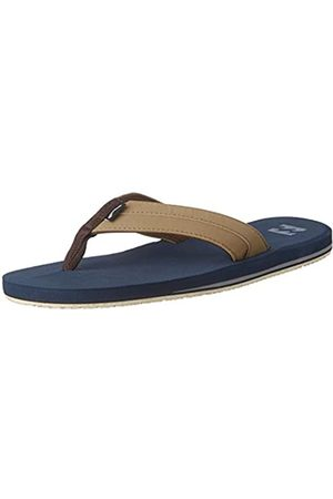 BILLABONG Men's All Day Impact Flip Flops, (Navy 21)