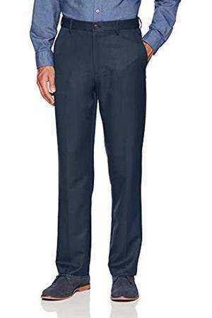 Amazon Essentials Expandable Waist Classic-Fit Flat-Front Dress Pants