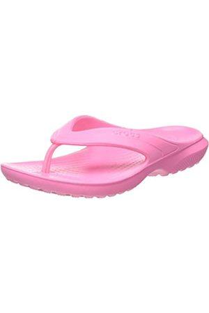 Crocs Unisex Kid's Classic Flip Flops, ( Lemonade 669)