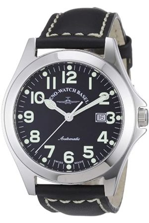 Zeno Men's Automatic Watch Ghandi 8112-a1 with Leather Strap