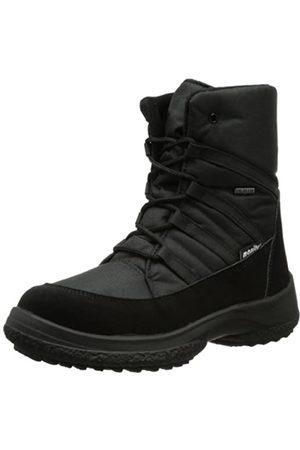Manitu Womens 990669 Snow Boots Schwarz (Schwarz 1) Size: 41