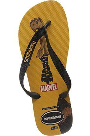 Havaianas Top Marvel, Unisex-Adult Flip Flops Flip Flops, (Banana )