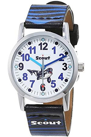 Scout Boy's Analogue Quartz Watch with Fabric Band Strap 1