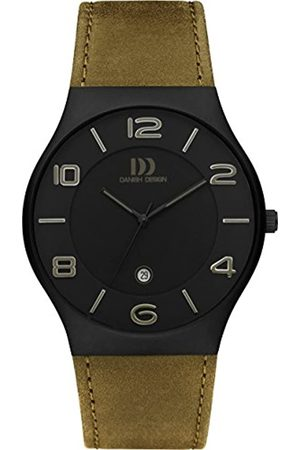 Danish Designs Danish Design Men's Quartz Watch with Dial Analogue Display and Leather Strap DZ120429