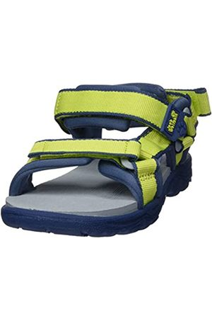 Jack Wolfskin Unisex Kids' Seven Seas 3 K Sports Sandals, (Lime/ 4171)