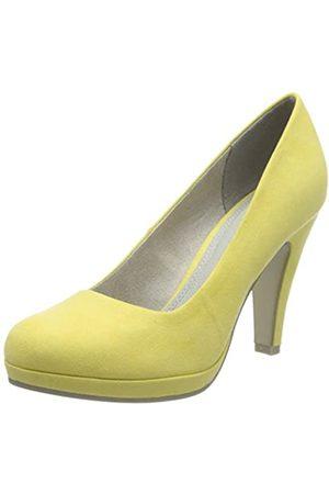Marco Tozzi Women's 2-2-22424-34 Platform Heels, (Lemon 638)