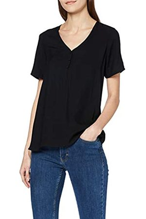 Vero Moda Women's Vmnina Ss Button Top Ga Noos T-Shirt