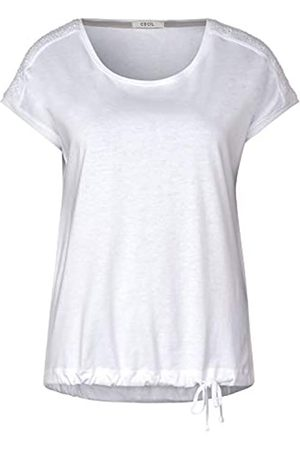 CECIL Women's Solid Smock Shoulder T-Shirt