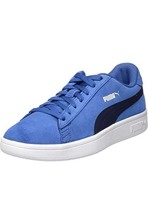 PUMA Unisex Niño's Smash V2 Sd Jr Zapatillas, Azul (Bright Cobalt-Peacoat 20)