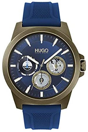 HUGO Men's Analogue Quartz Watch with Silicone Strap 1530130